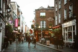 A street in Dublin Ireland