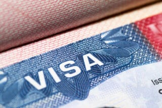 A visa is required to live abroad for extended periods.