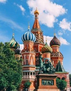 Red Square in Russia