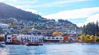 Queenstown New Zealand and it's harbor