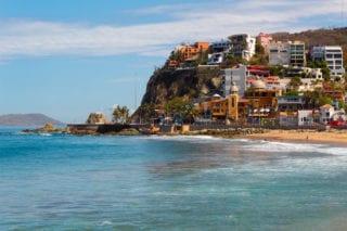 Mazatlan Mexico coastline view