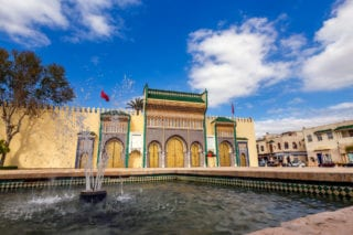 king of Morocco palace