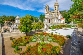 Bom Jesus do Monte shrine in Braga Portugal