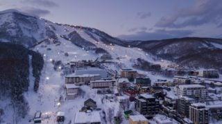 Sapporo Japan ski area